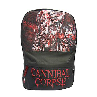 Cannibal Corpse Backpack Bag Stabhead Band Logo new Official Black