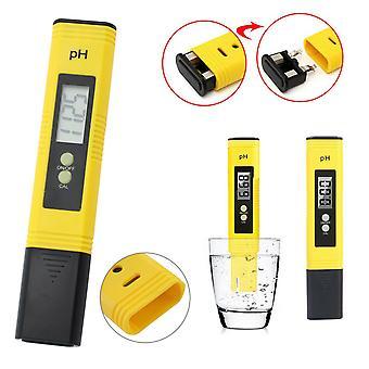 Kabalo 0.01 Auflösung Elektrischer digitaler PH Tester Wasserpool Hydroponik Aquarium Test Pen Pocket Meter mit Autokalibrierungsfunktion