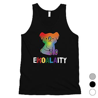 LGBT Ekoalaity Koala Rainbow Mens Tank Top Christmas Gift
