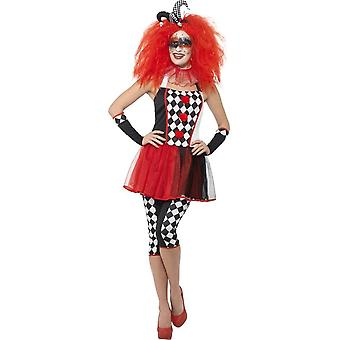 Twisted Harlequin Costume, Large