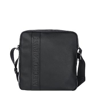Emporio armani men's crossbody bag - y4m174-yg89j, black