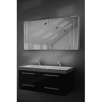 Karma LED Battery Bathroom Mirror Cabinet With Pull Cord k144