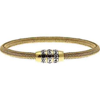 Rochet B36057 bracelet - LOCKER Steel PVD Yellow Men's Tress