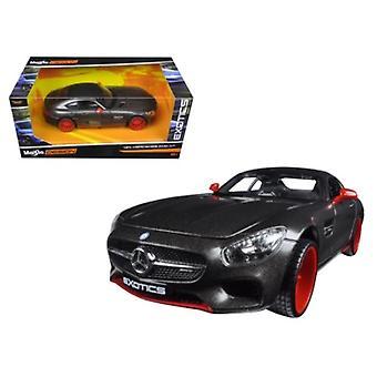 Mercedes AMG GT Negro -Exotics 1/24 Diecast Model Car de Maisto