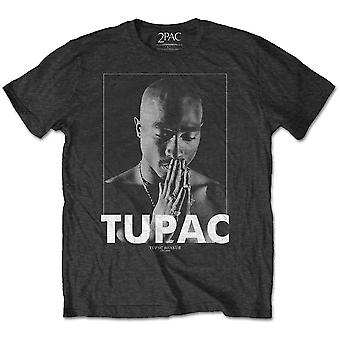 T-shirt officiel Tupac Shakur 2Pac Praying Rap Rock