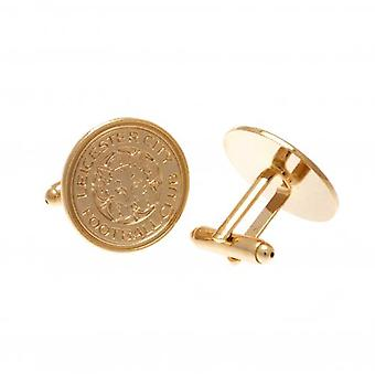Leicester City Gold Plated Cufflinks