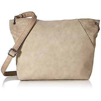 Tom Tailor Acc Bria - Women Beige Shoulder Bags (Taupe) 41x30x13cm (W x H L)