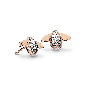 Kit Heath Blossom Bumblebee Rose Gold Plated Stud Boucles d'oreilles 40339RG020