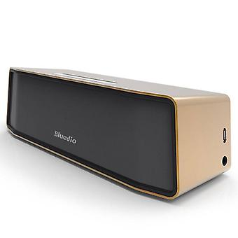 Bluedio Camel Original Bluedio BS-2 Bluetooth Wireless Speaker Wireless Bluetooth Speaker Box 4.1 Gold
