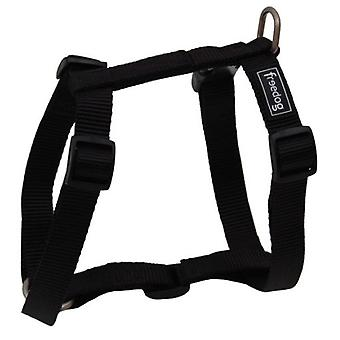 Freedog Harness Nylon Basic Black (Dogs , Collars, Leads and Harnesses , Harnesses)