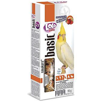 Lolo Lolo 2 Barritas Frutas 90 Grs Ninfas (Birds , Bird Treats)