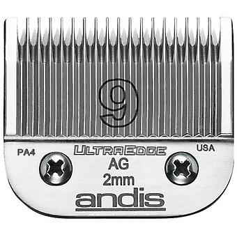 Andis Blade Steel S-9 (Short Finishes, uniformi)