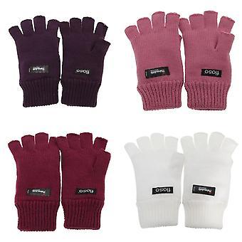 FLOSO hyvät/naisten Thinsulate Thermal sormettomat Winter käsineet (3M 40g)