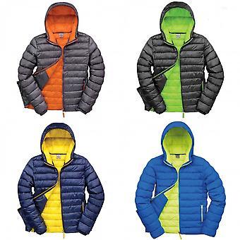 Resultado urbano hombres Snowbird con capucha chaqueta