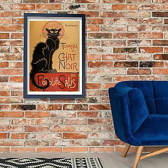 Tournee du Chat Noir Steinlen Poster Stampa giclée