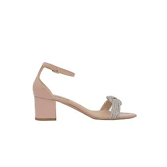 Ninalilou 301085we Women's Pink Leather Sandals
