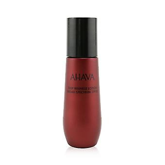 Ahava Apple Of Sodom Deep Wrinkle Lotion Broad Spectrum SPF 30 50ml/1.7oz