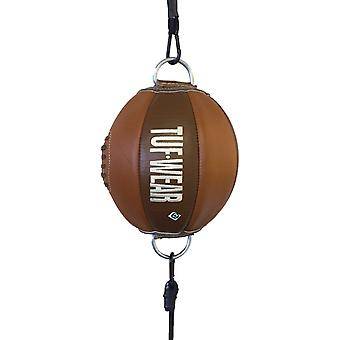 Tuf Wear Classic Brown Leather Top to Bottom Ball (Floor to Ceiling Ball) Classic Brown