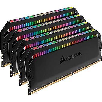 Corsair CMT32GX4M4C3000C15 Dominator Platinum vysoký výkon Desktop Memory Kit, DDR4 32 GB, 4 x 8 GB, 3000 MHz, RGB