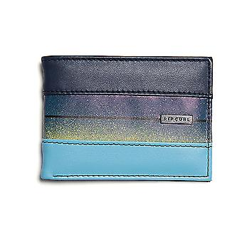 Rip Curl Flow PU Slim Faux Leather Wallet in Marina