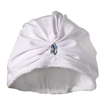 Diva White Drying Turban