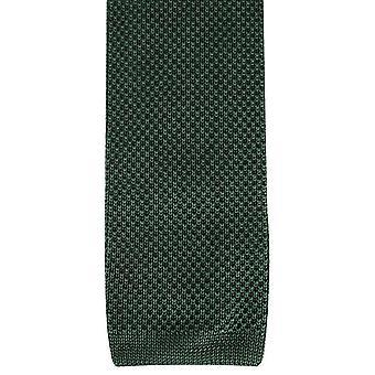 David Van Hagen pianura maglia cravatta - oliva