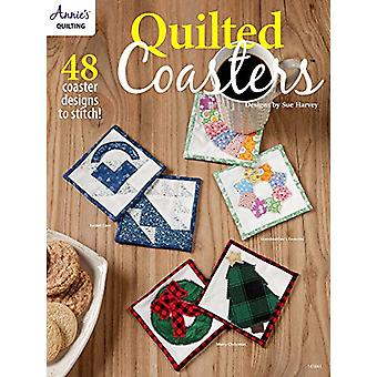 Quilted Coasters - 48 Coaster Designs to Stitch by Sue Harvey - 978159