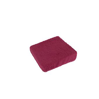 Stand-up help cushion seat boost bordeaux 40 x 40 x 10/6 cm