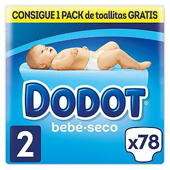 Dodot Baby Dry Diaper Size 2 of 78 Units (Baby & Toddler , Diapering , Diapers)