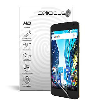 Celicious Vivid Invisible Glossy HD Screen Protector Film Compatible avec STK Hero Lite [Pack of 2]