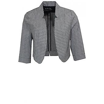 Bianca Cropped Patterned Jacket