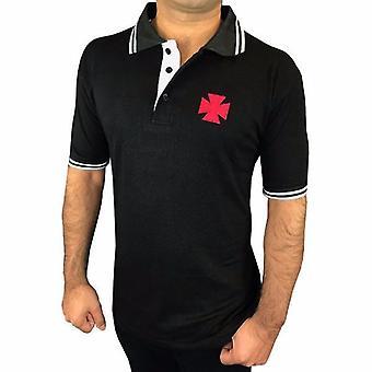 ماسوني فارس templar بولو قميص KT شعار التطريز