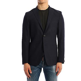 Tonello 06g322y3103u600 Men's Blue Linen Blazer
