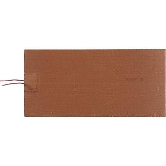 Thermo TECH Silicone Heating foil self-adhesive 230 V DC, 230 V AC 132 W IP rating IPX7 (L x W) 290.7 mm x 139 mm