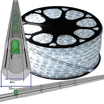 Jandei Hilo luminoso led vertical BL. FRIO exterior corte 1m 220-240V 50m