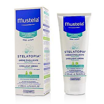 Mustela Stelatopia Emollient Cream - For Atopic-prone Skin - 200ml/6.76oz