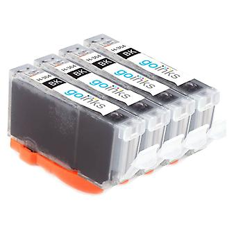 4 Photo Black kompatible HP 364PBk (HP364XL) Drucker Tintenpatronen