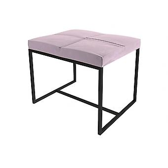 Gillmore Luxe - Upholstered Velvet Small Stool In Various Colours With Frame Finish Options