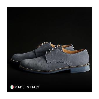 SB 3012 - Shoes - Lace-up shoes - 06-CAMOSCIO-B-JEANS - Men - lightblue - EU 41