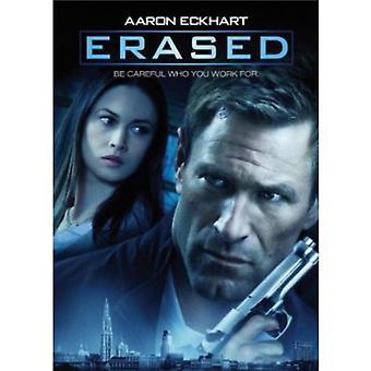 Erased [DVD] USA import