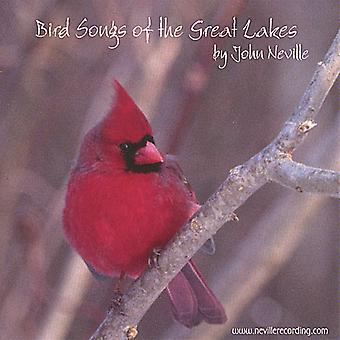 John Neville - fugl sange af Great Lakes [CD] USA importen