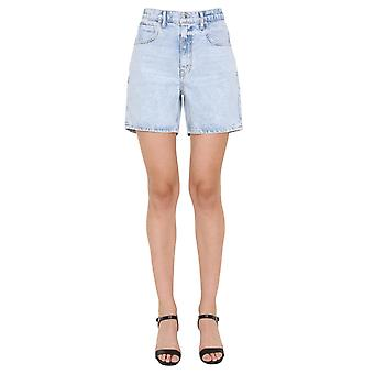Alexander Wang.t 4dc22204720270 Dames's Light Blue Cotton Shorts