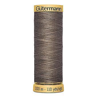 Gutermann 100% Natural Cotton Thread 100m Hand and Machine Colour Code  - 1225