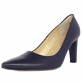 Peter Kaiser Tosca Ladies Classic Pointed Court Shoes In Navy
