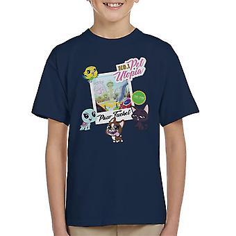 Littlest Pet Shop Paw Tucket Pet Utopia Kid's T-Shirt