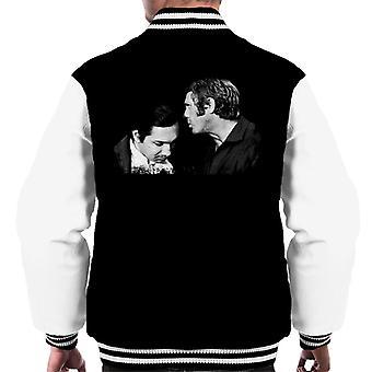Motorsport Images McQueen Talks To Pedro Rodriguez Men's Varsity Jacket