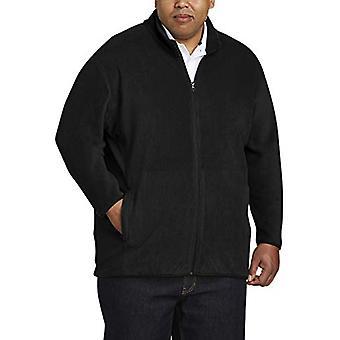Essentials Men's Big and Tall Full-Zip Polar Fleece Jacket fit by DXL,...