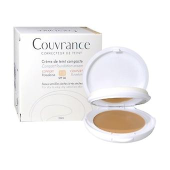 Couvrance compact cream color 01 10 g