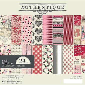 Authentique Romance 6x6 pulgadas De papel Pad