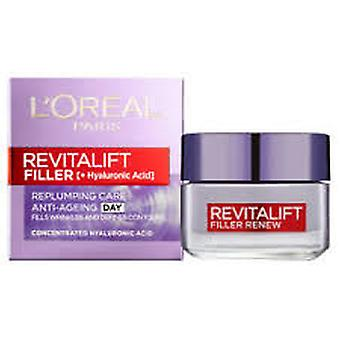 L'Oreal Revitalift Filler Renew Anti Ageing Cream 50ml
